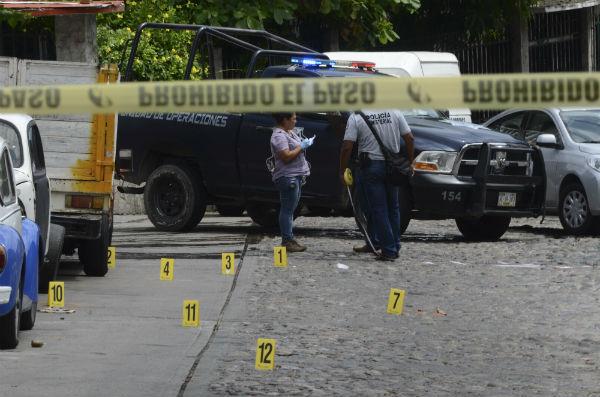 Del total de asesinatos registrados en los primeros cuatro meses del año, 7 mil 985 se cometieron con arma de fuego Foto: Cuartoscuro