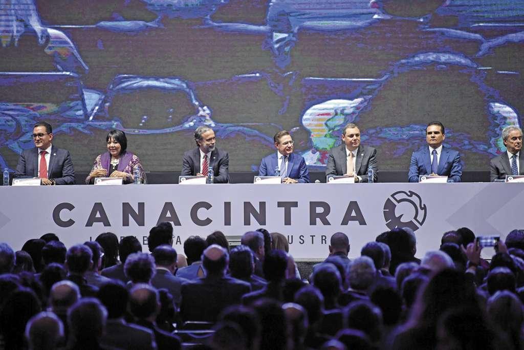 La Canacintra propone nueve puntos para una nueva política industrial.FOTO: ESPECIAL