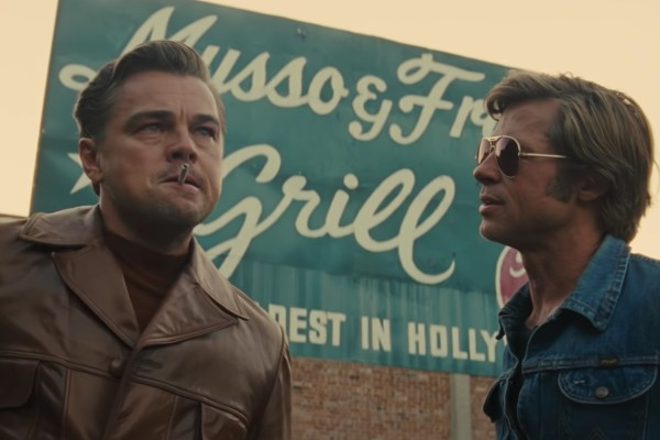 Leonardo DiCaprio y Brad Pitt en Once Upon a Time in Holywood