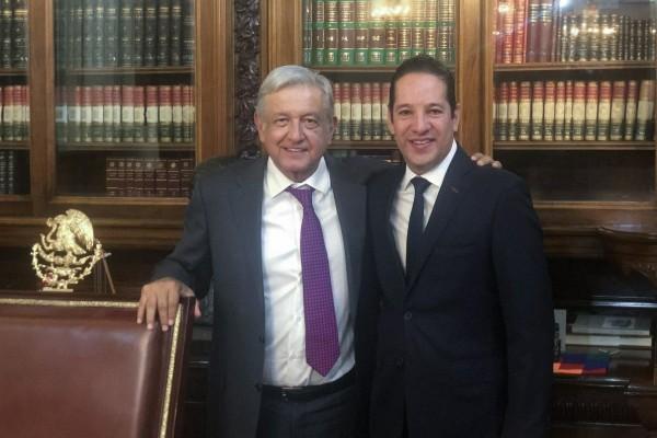 AMLO y Francisco Domínguez