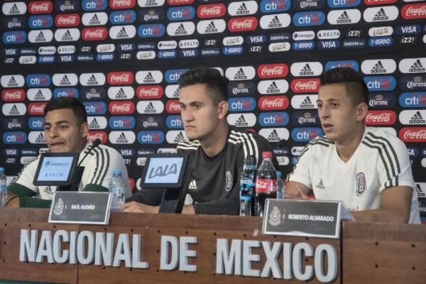 Lejos de todo conflicto, los tres aseguran que existe un respeto mutuo con cada uno de sus compañeros. Foto: Mexsport