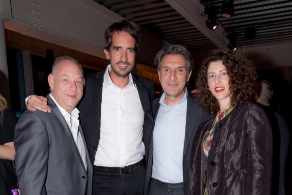 Karla Martínez de Salas, Mauricio Kirschner, Sergio, Sandra y Ari Berger, fueron algunos de los asistentes. Foto: Cortesía