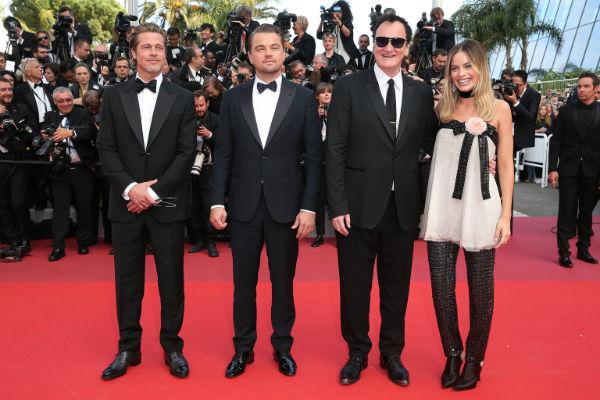 La cinta de Tarantino, es una de las más esperadas del encuentro, porque es la primera vez que protagonizan juntos Brad Pitt y Leonardo DiCaprio. Foto: Especial