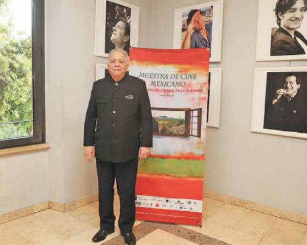 El embajador de Venezuela en Italia, Isaías Rodríguez, también fue fiscal General. FOTO: PABLO ESPARZA
