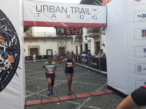 Más de mil 100 deportistas provenientes de ocho países participaron en la Urban Trail Taxco 2019. FOTO: ESPECIAL