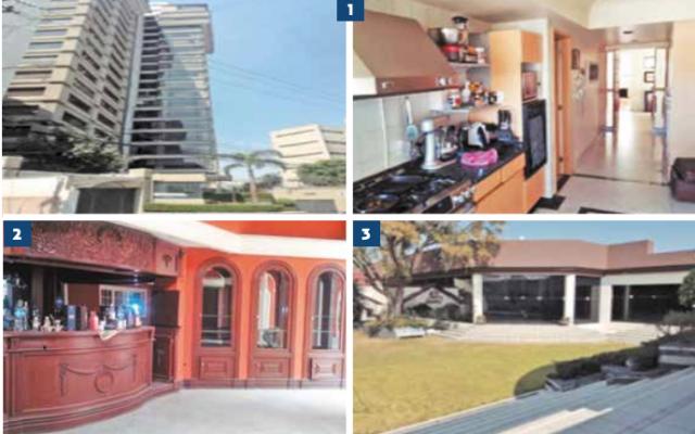 Las propiedades que se subastarán están en la CDMX, Guerrero y Quintana Roo.FOTO: ESPECIAL