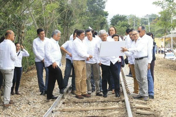 El derecho de vía ha limitado la construcción de varias obras, entre ellas el Tren México-Toluca. Foto: CUARTOSCURO