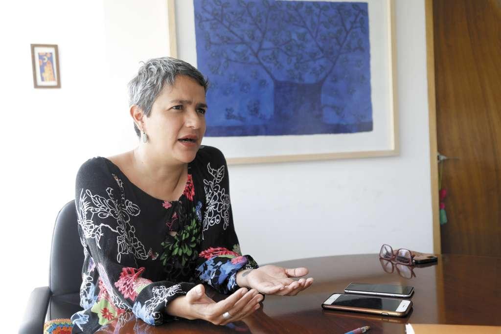 Karla Quintana es la comisionada nacional de Búsqueda de Personas. POR NAYELI CRUZ