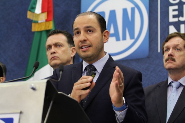 Marko Cortés PAN