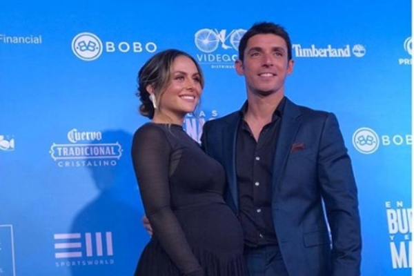 Zuria Vega y Alberto Guerra. Foto: Especial.