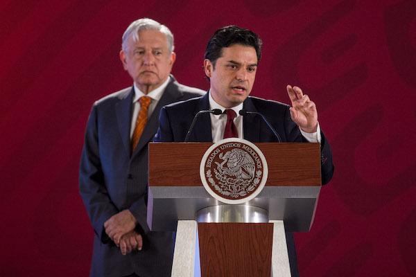 López Obrador designó este miércoles a Zoé Robledo, como nuevo director del IMSS. Foto: Cuartoscuro