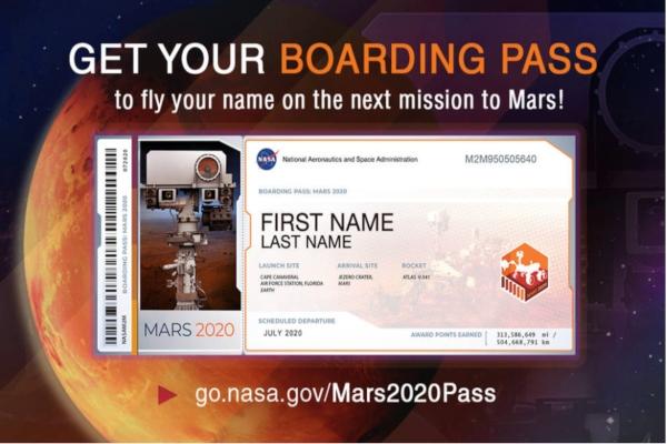 Viaja a Marte. Foto: Especial.