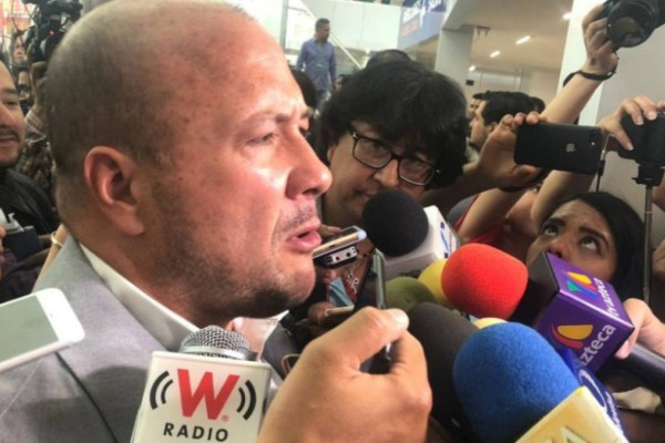 Enrique Alfaro reveló que le aclaró a la Secretaría de Gobernación que su gobierno no presentó las denuncias contra Abisalud. Foto: Especial