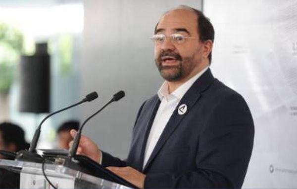 Álvarez Icaza, dio su punto de vista sobre las cuatro leyes complementarias de la Guardia Nacional. FOTO: ESPECIAL