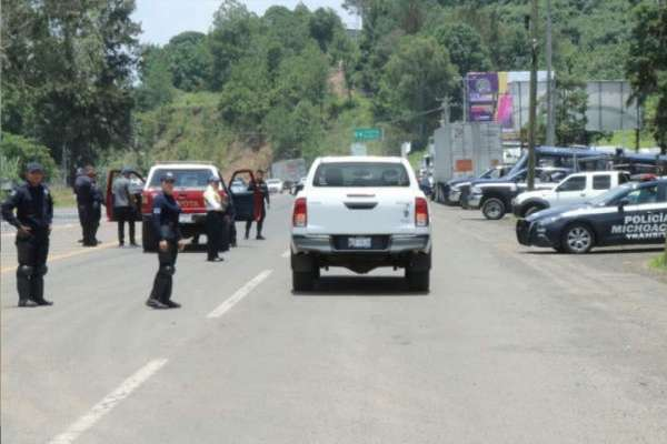 la Secretaría de Seguridad Pública estatal informó que luego de la balacera, se instaló un operativo de de búsqueda. FOTO: ESPECIAL