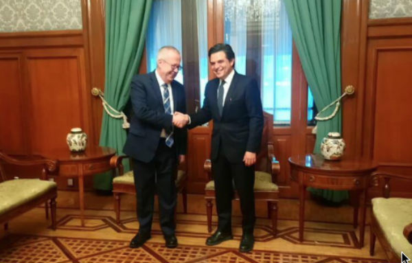 Por instrucciones del presidente López Obrador, el encargado de las finanzas públicas del país recibió en Palacio Nacional a Robledo. FOTO: ESPECIAL