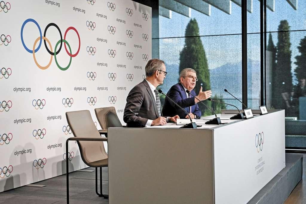 DUDAS. Bach expuso los cambios propuestos por el COI. Foto: AFP