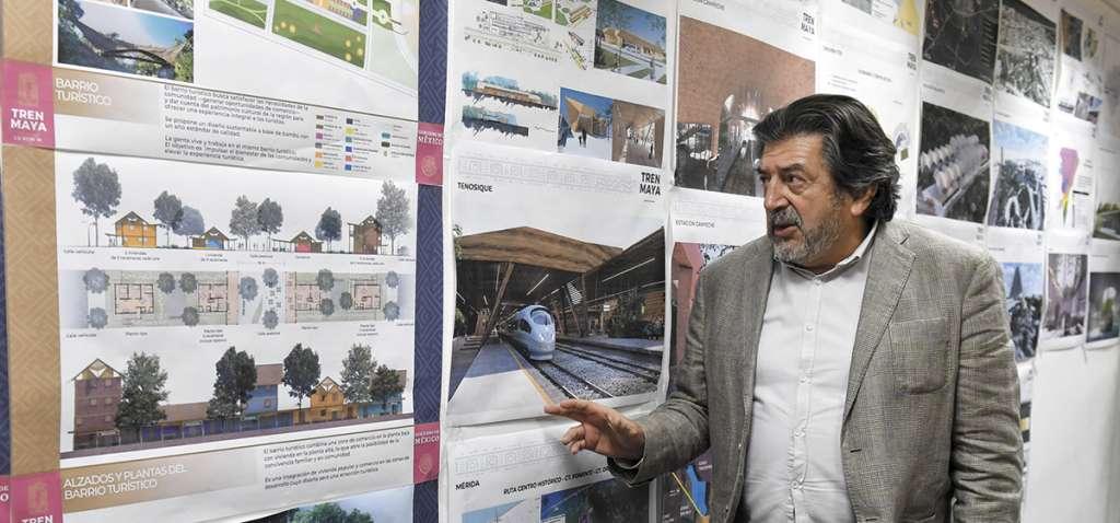Rogelio Jiménez Pons, titular de Fonatur, dijo que hay interés de varios fondos de inversión por participar en el proyecto.FOTO: ESPECIAL