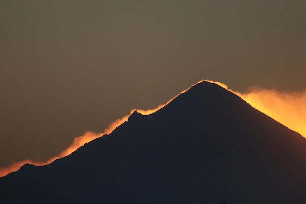 Actividad del Popocatépetl