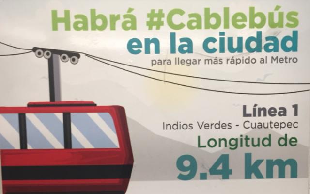 Cablebús en la GAM