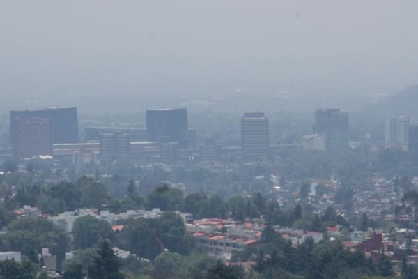 El Simat destacó que Cuajimal predomina con 117 puntos de partículas PM10. Foto: Cuartoscuro