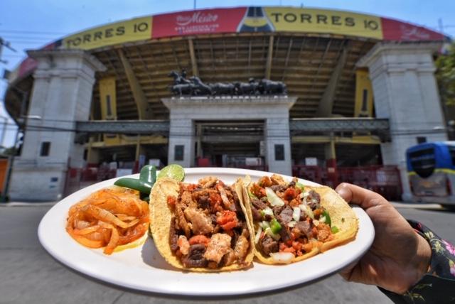 Los tacos Villamelón cuentan con tres sucursales en la CDMX. FOTO: CORTESÍA