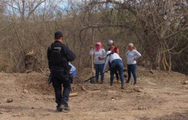 Los cuerpos se encontraban en buen estado gracias a las condiciones del lugar en que fueron dejados. FOTO: ESPECIAL