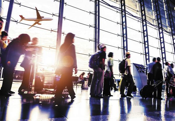 La OMT prevé un incremento de entre 3 y 4% en la llegada de turistas internacionales en 2019. Foto: Especial