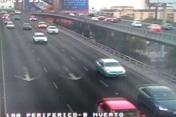 Reporte del tráfico en al CDMX 24 de mayo