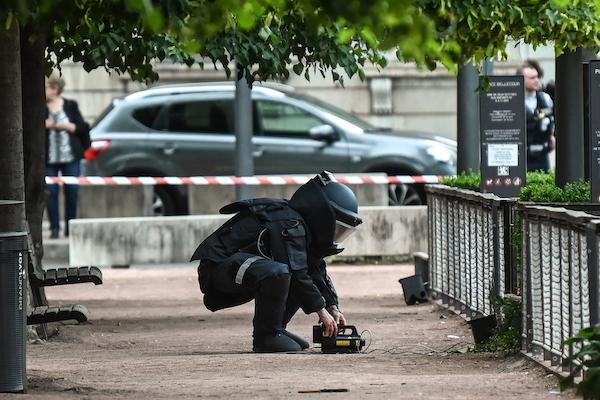 Atentado en Lyon, Francia