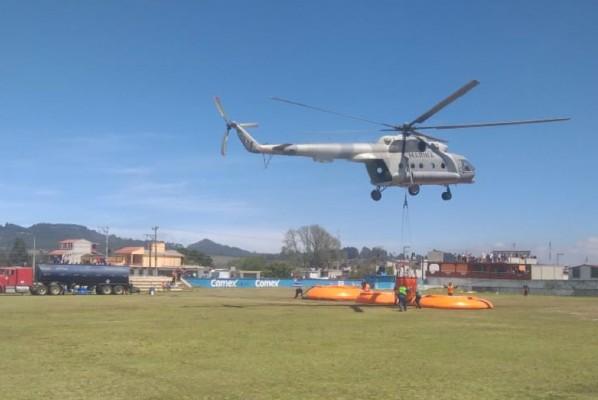 Helicóptero de la Semar. Foto: Archivo Cuartoscuro