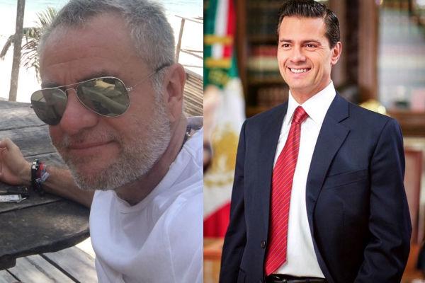 El productor dijo que el tema de la separación de Rivera y Peña Nieto no le sorprende.