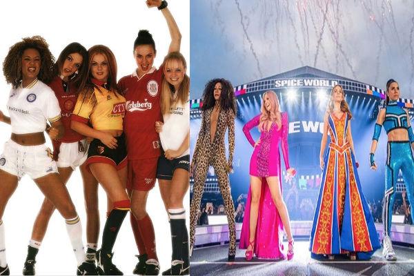 Las Spice Girls nació en 1996, pero se separaron en 2001