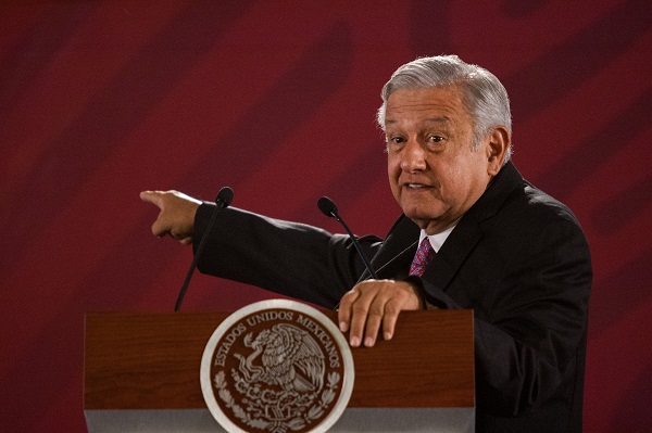 El presidente aseguró que tuvo conocimiento desde las primeras horas de este sábado y aceptó la renuncia de González Blanco. Foto: Cuartoscuro