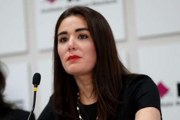 La consejera Dania Ravel impulsa el derecho a cambiar datos en credencial. Foto: Especial