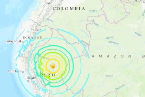 En Bogotá y otras regiones de Colombia se activaron sirenas de emergencia y centenares de personas evacuaron sus viviendas. Foto: Especial
