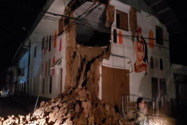 Terremoto en Perú. Foto: Especial.