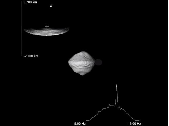 Asteroide cerca de la Tierra.