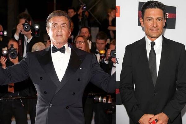 Fernando Colunga con Sylvester Stallone. Foto: Especial.