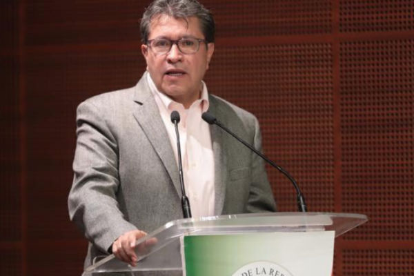 Monreal Ávila aceptó que el escenario nacional esta difícil para el Gobierno de Andrés Manuel López Obrador