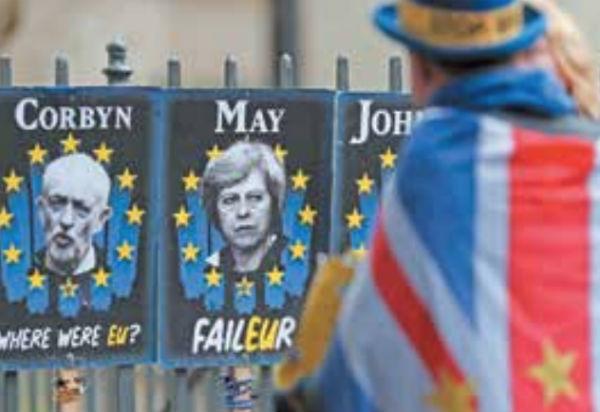 Siete aspirantes se han postulado para ocupar el lugar de Theresa May. Foto: AP