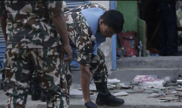 Un total de cinco personas han resultado heridas en estos incidentes. Todos reciben tratamiento en varios establecimientos de salud en la capital. FOTO: AFP