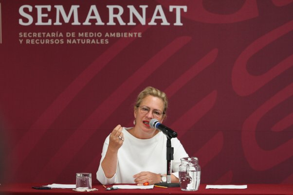 Aeroméxico pide disculpas retraso vuelo Josefa González Blanco Semarnat