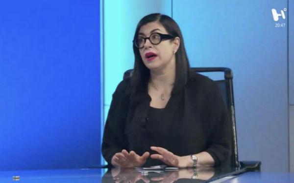 Vanessa Rubio, habló sobre el la situación que enfrenta el gobierno federal en materia de recorte presupuestal. FOTO: EL HERALDO TV