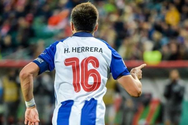 Hector Herrera será presentado por el Atletico de Madrid