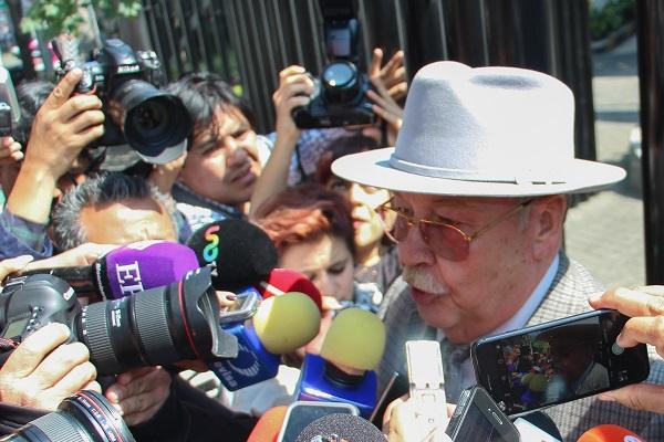 Javier Coello, abogado de Emilio Lozoya, exdirector de Pemex. Foto: Cuartoscuro