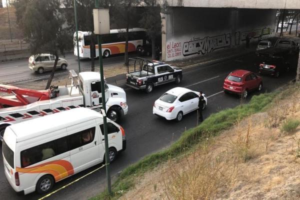 asesinan a custodio en la México-Querétaro