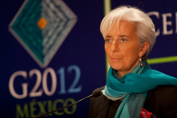 Carlos Urzúa Palacio Nacional Christine Lagarde