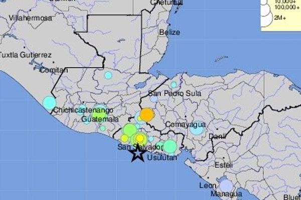 Activan alerta de tsunami por sismo en El Salvador