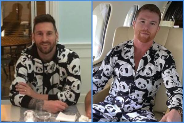 Lionel Messi y Saúl Canelo Álvarez y su gusto por los pandas